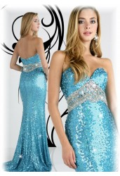 Sweetheart Fully Embellished Gown EDR726