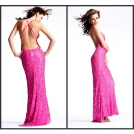 Sexy Slinky Beaded Gown EDR623