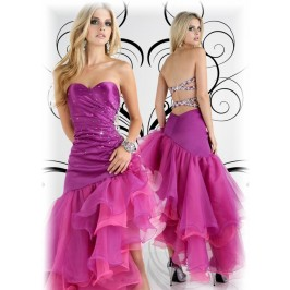 Heart-stopping Strapless Gown EDR719