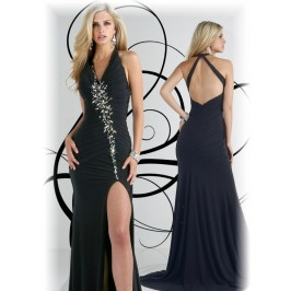 V Neck Gown EDR724